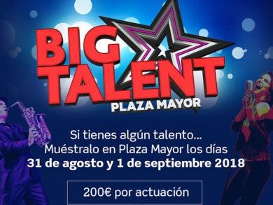 Concurso Big Talent en el Festival de Verano de Plaza Mayor