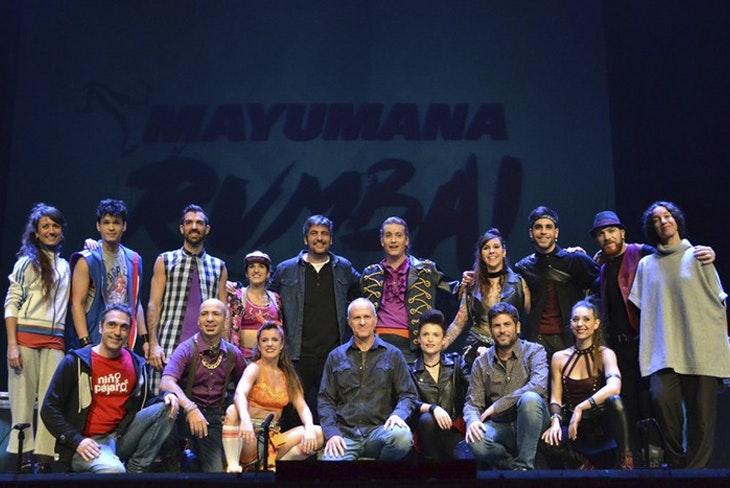'Rumba¡' de Estopa con Mayumana en el Teatro Cervantes de Málaga