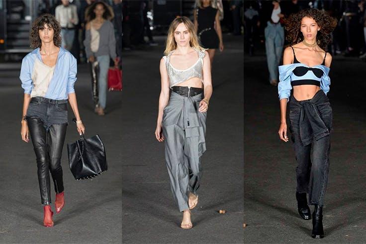 Colección de moda de Alexander Wang