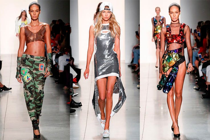 Jeremy Scott en la New York Fashion Week