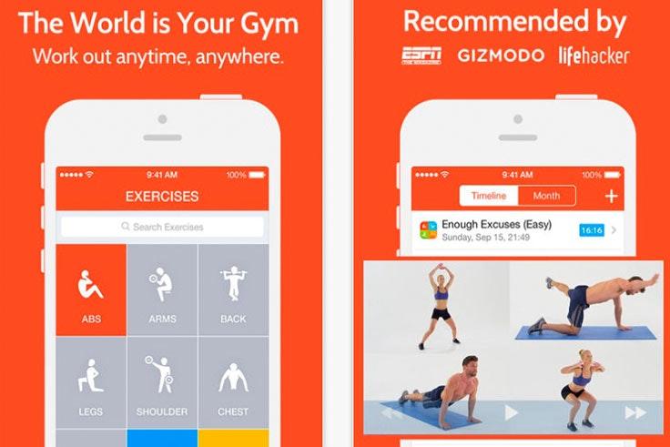 Apps para ponernos en forma