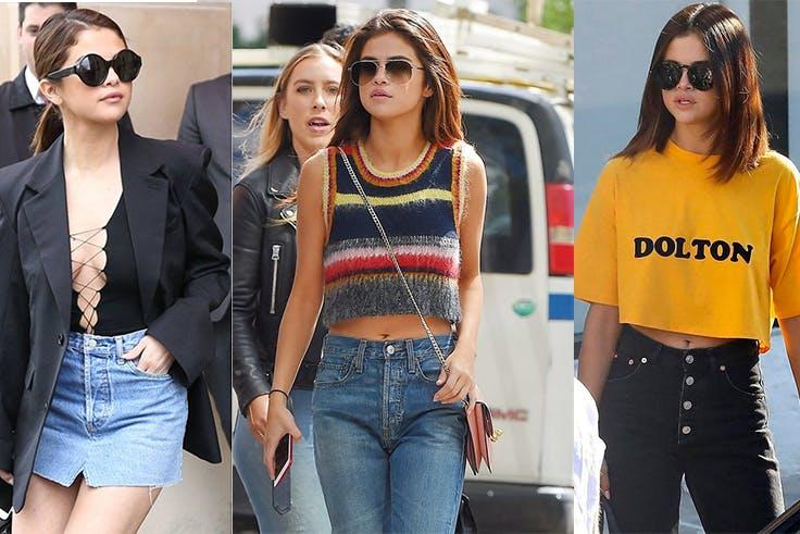 Los mejores looks que luce la cantante Selena Gómez