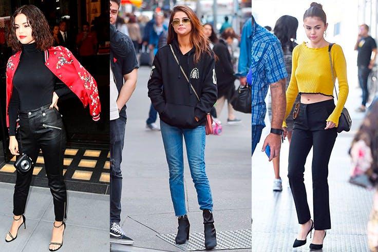 Los mejores looks casual de Selena Gomez