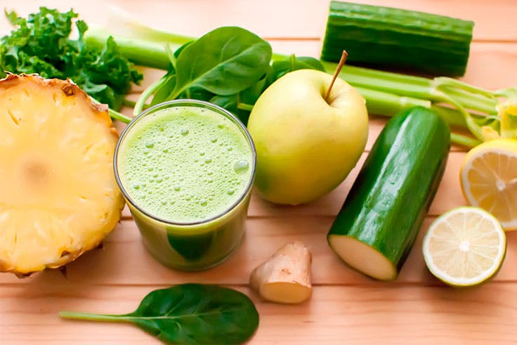 Alimentos para una dieta depurativo