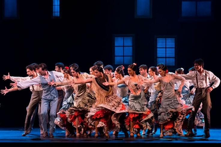 Espectáculo del Ballet Nacional en el Teatro Cervantes de Málaga
