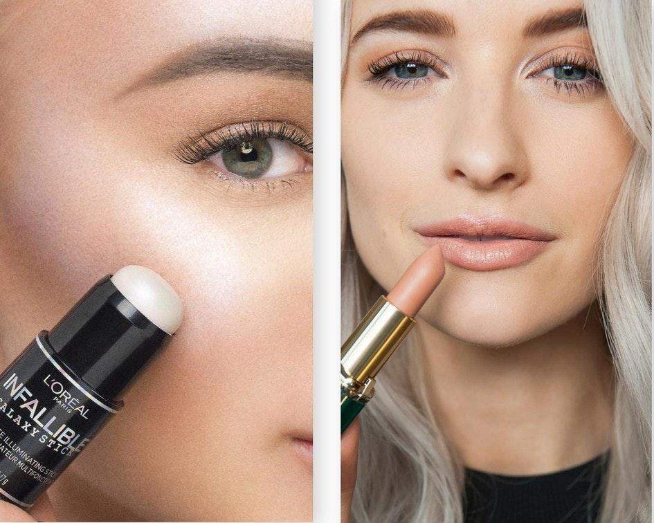 Tendencia de efecto no maquillaje