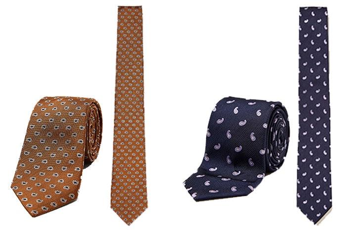 Corbatas de estampado