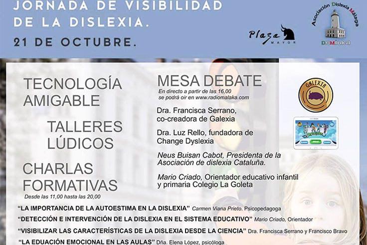 Jornadas de difusión y apoyo a la dislexia