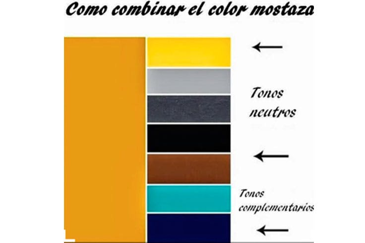 Tendencia color mostaza