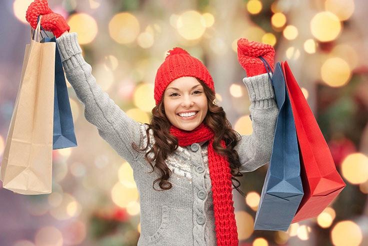 Compras navideñas en Black Friday