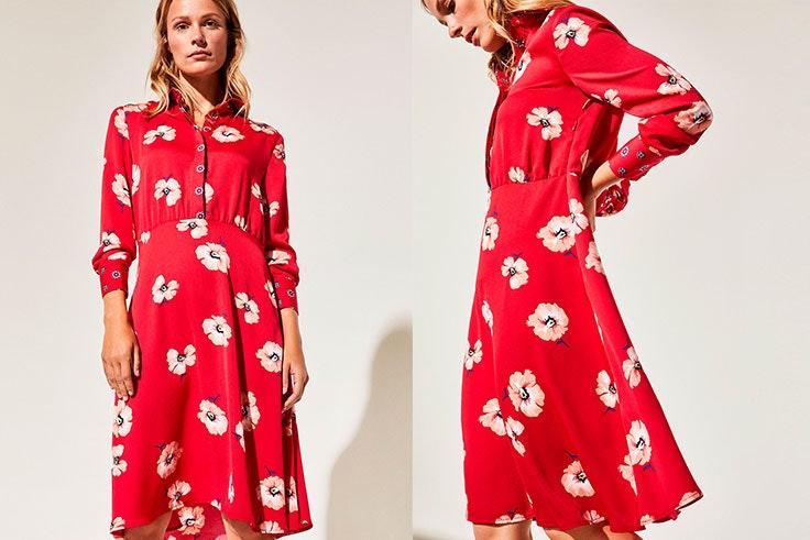 vestidos cortefiel