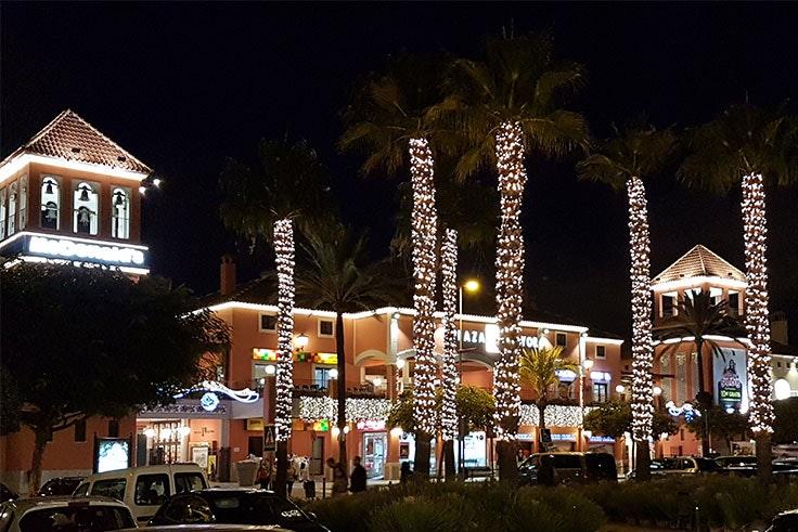Luces de Navidad en Plaza Mayor