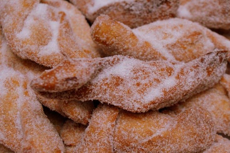 Dulces típicos de Navidad en Málaga