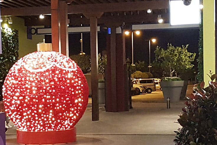 Decoración de Navidad en Plaza Mayor
