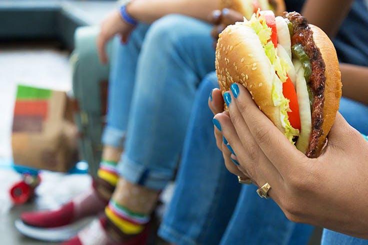 Hamburguesa del Burger King