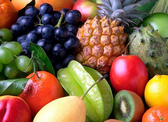 comer fruta propósito