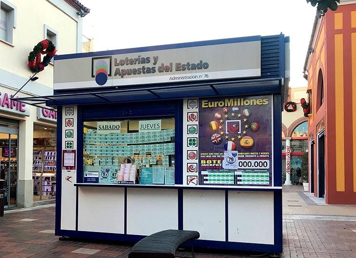 loteria de navidad en plaza mayor