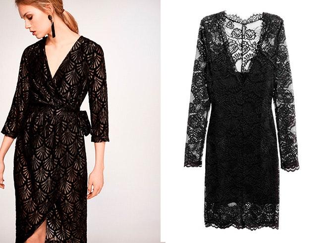 vestido negro little black dress
