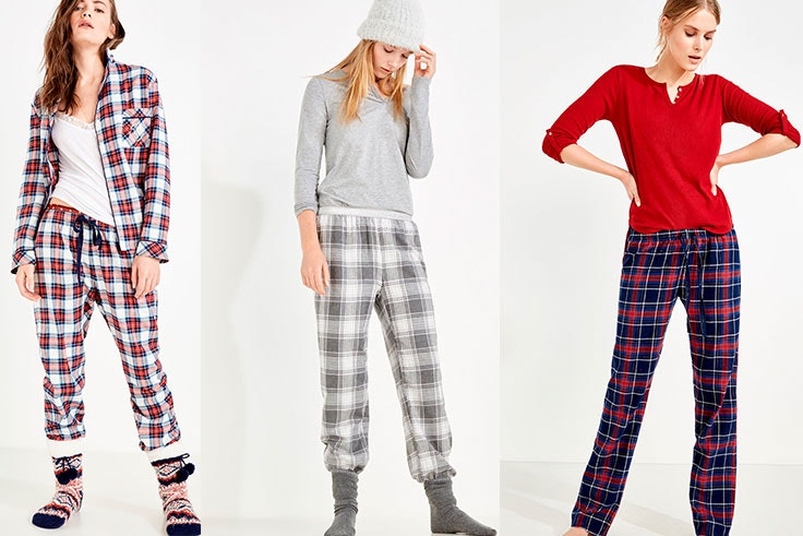 Pijamas tejidos clásicos