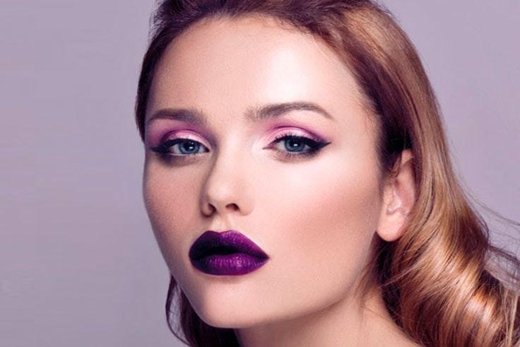 Ultra Violet tendencia de belleza en 2018