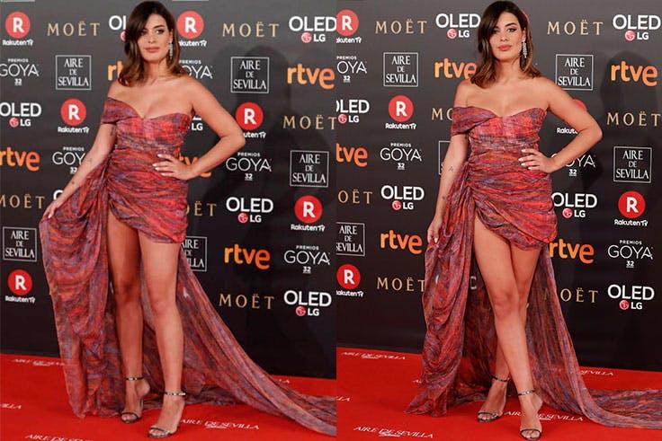 Los peores looks de los Premios Goya