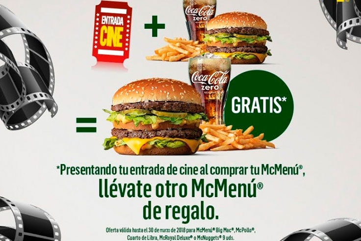 Descuentos exclusivos en McDonalds