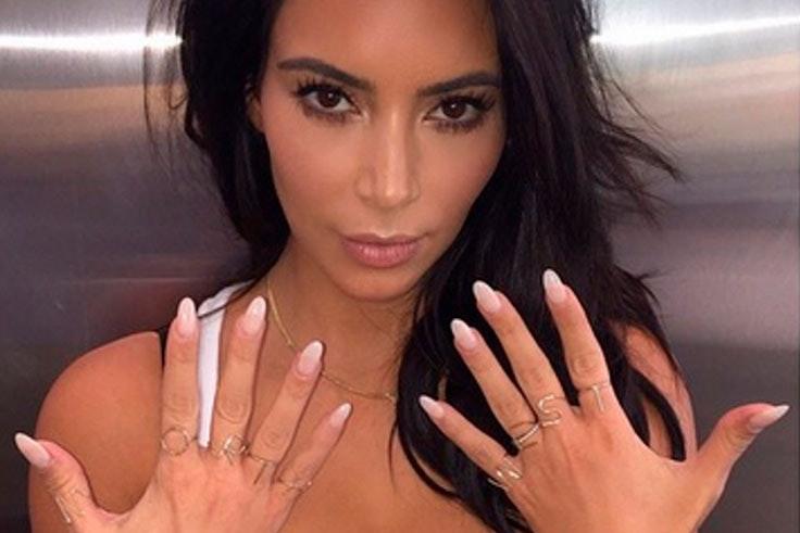Tendencia de uñas de porcelana