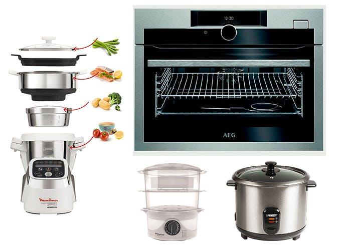 C mo cocinar al vapor los mejores consejos y trucos - Utensilios para cocinar al vapor ...