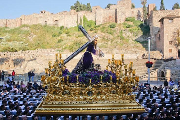 Los mejores momentos de la Semana Santa de Málaga 2018
