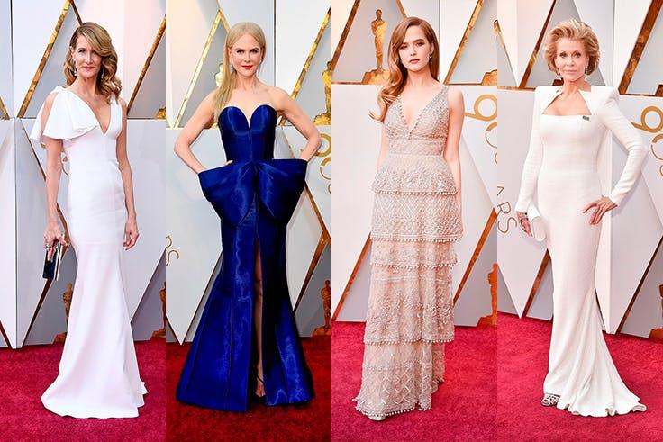 Los mejroes looks de los Oscar 2018