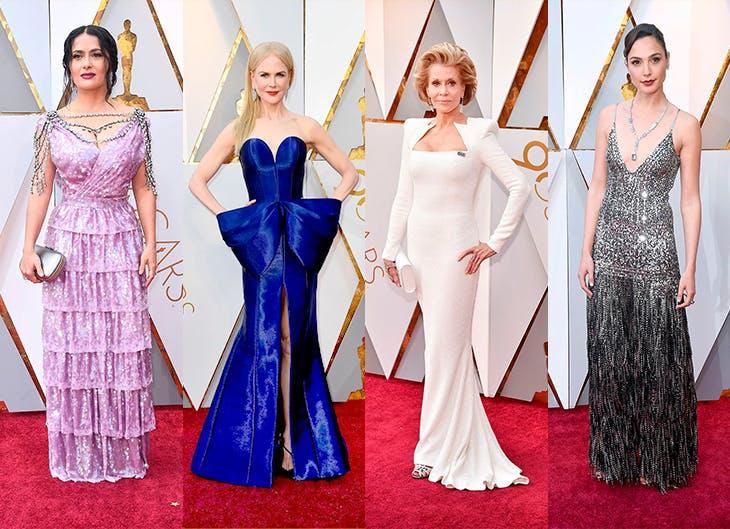 Los mejores y peores looks de los Oscar 2018