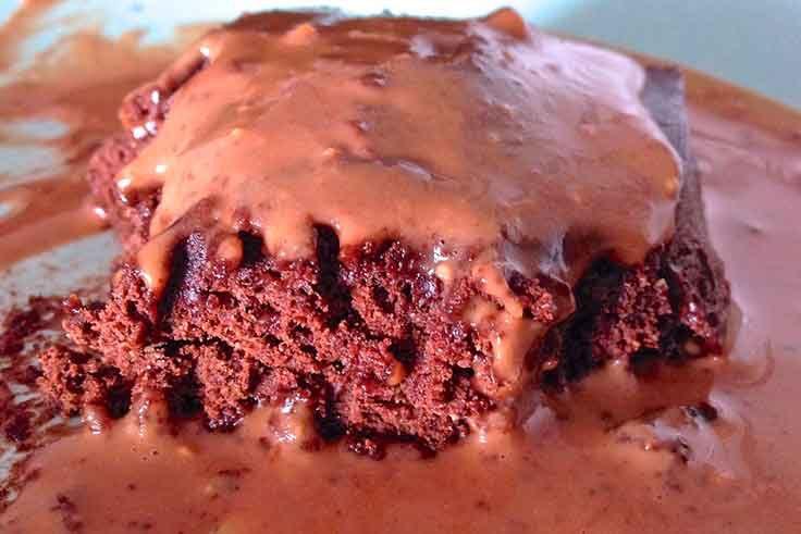 Receta de brownie fácil
