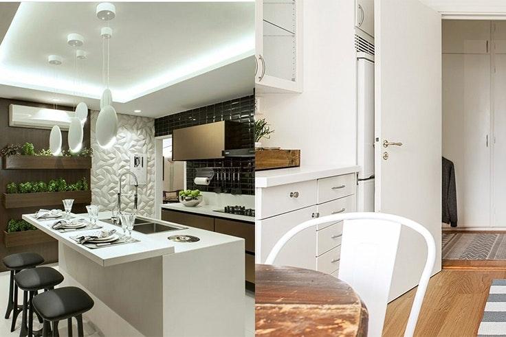 Ideas de decoración para cocinas blancas