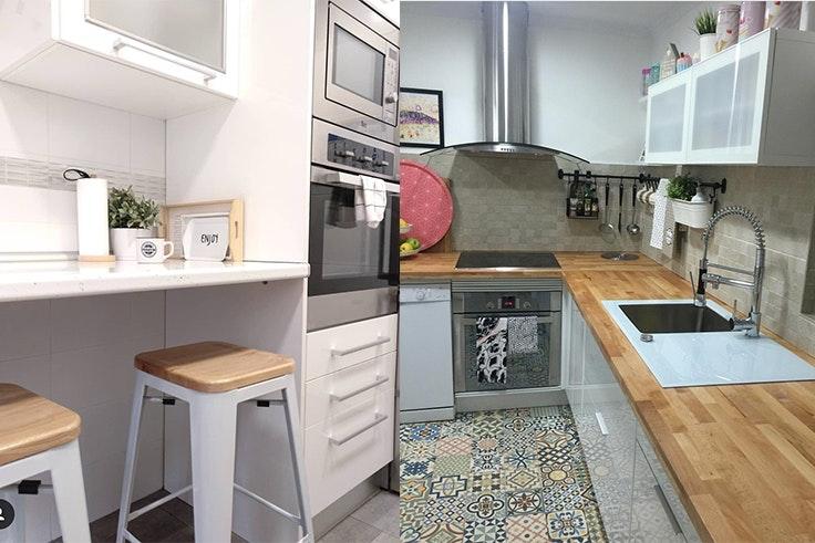 Tendencias de decoración de cocinas modernas pequeñas