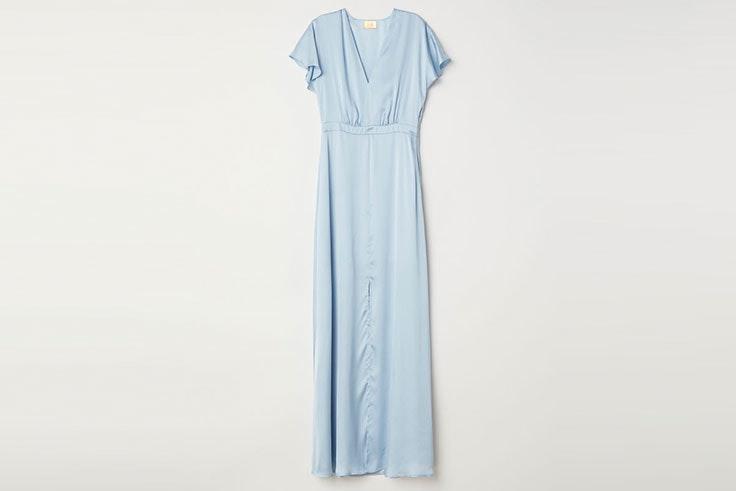 Vestidos románticos de invitada de boda en H&M