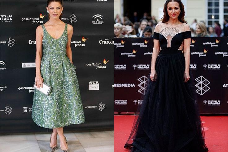 Los mejores looks de chica dle Festival de Cine de Málaga