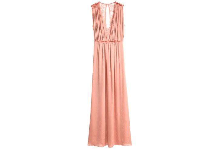 Ideas de looks de boda con vestidos largos