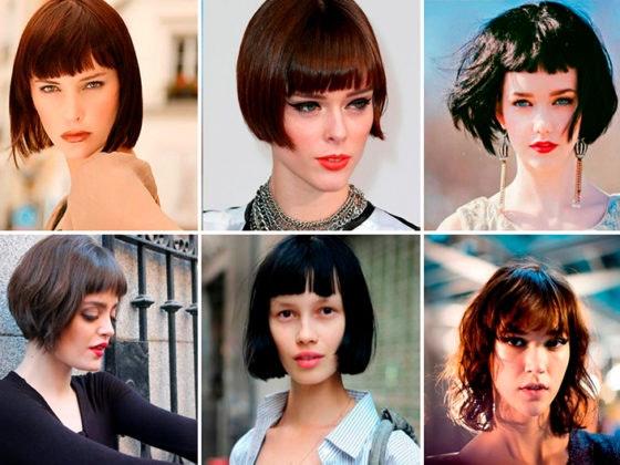 Tendencia de cortes de pelo para pelo corto