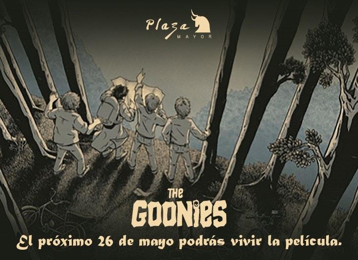 Aventura de Los Goonies en Plaza Mayor