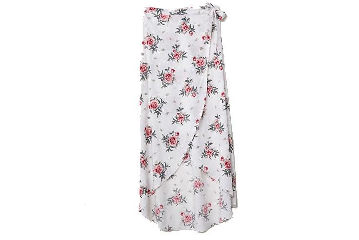 Tendencia de faldas pareo en H&M