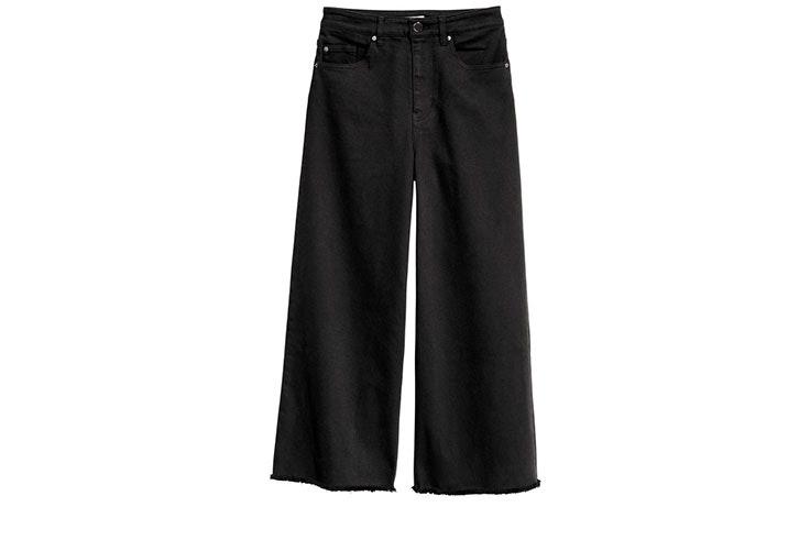 Tendencia de pantalones culotte en H&M