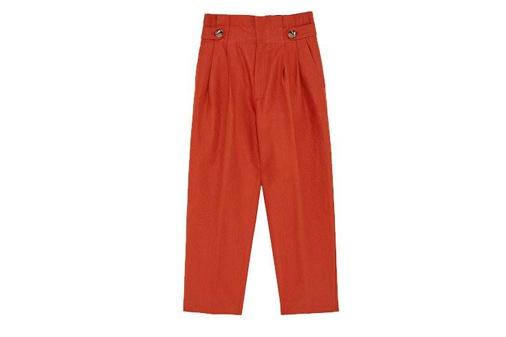 Tendencia de pantalones de pinzas en Zara
