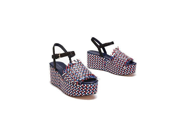 Tendencia de zapatos de cuñas en Zara Home
