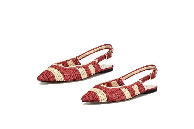 Tendencia de sandalias en Zara Home