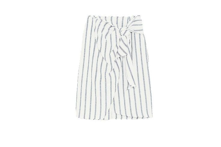 Tendencia de faldas pareo en Zara