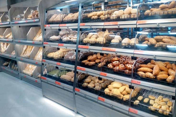 Selección de pan de Mercadona