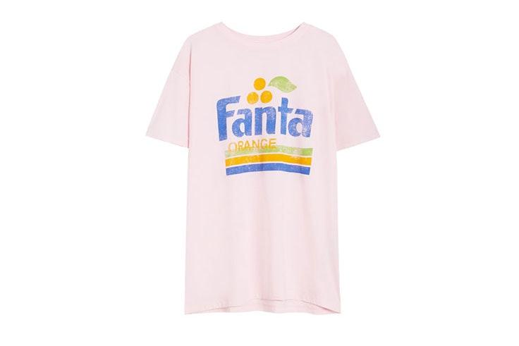 Camiseta retro de Fanta
