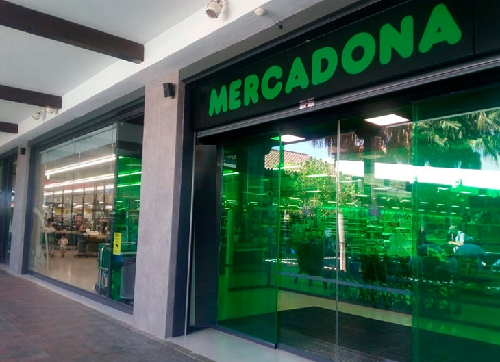 Reapertura de Mercadona en Plaza Mayor