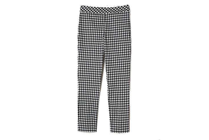 Tendencia de cuadros vichy en pantalones