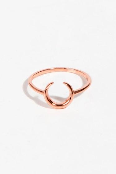 anillo rosado
